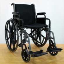 Коляска инвалидная LK 6108-46 BDFPQ