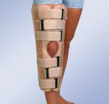 Ортез для фиксации коленного сустава IR-5000, Orliman 50см